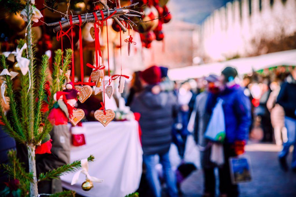 Italy Christmas market