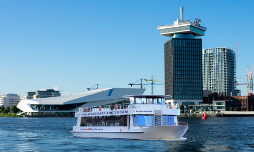 Dagtocht Amsterdam inclusief havenrondvaart