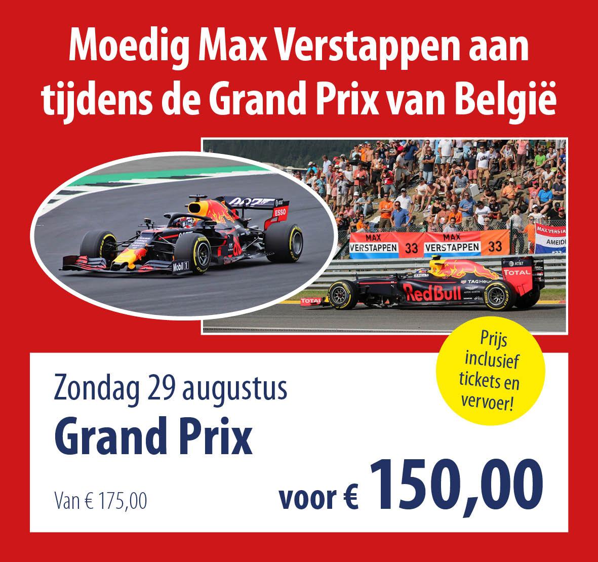 busreis Grand Prix België
