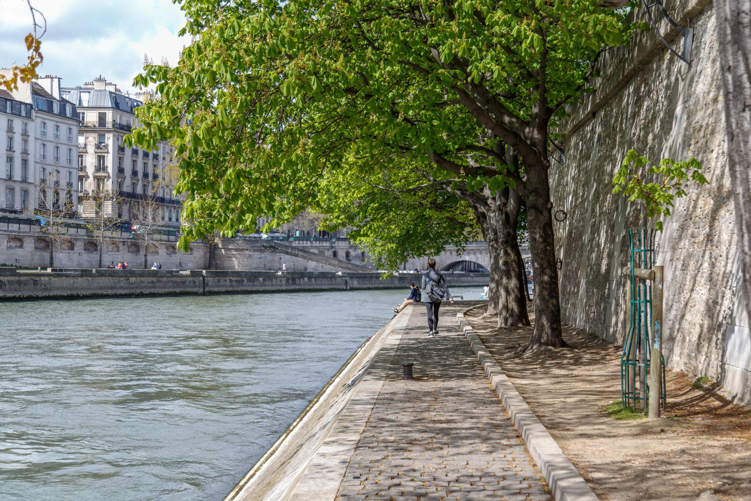 wandel langs de Seine
