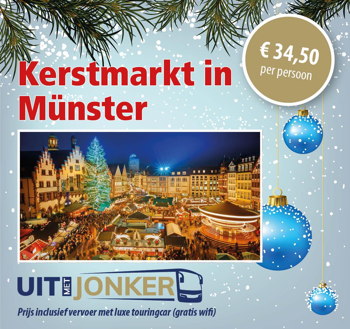 Dagtocht kerstmarkt Munster