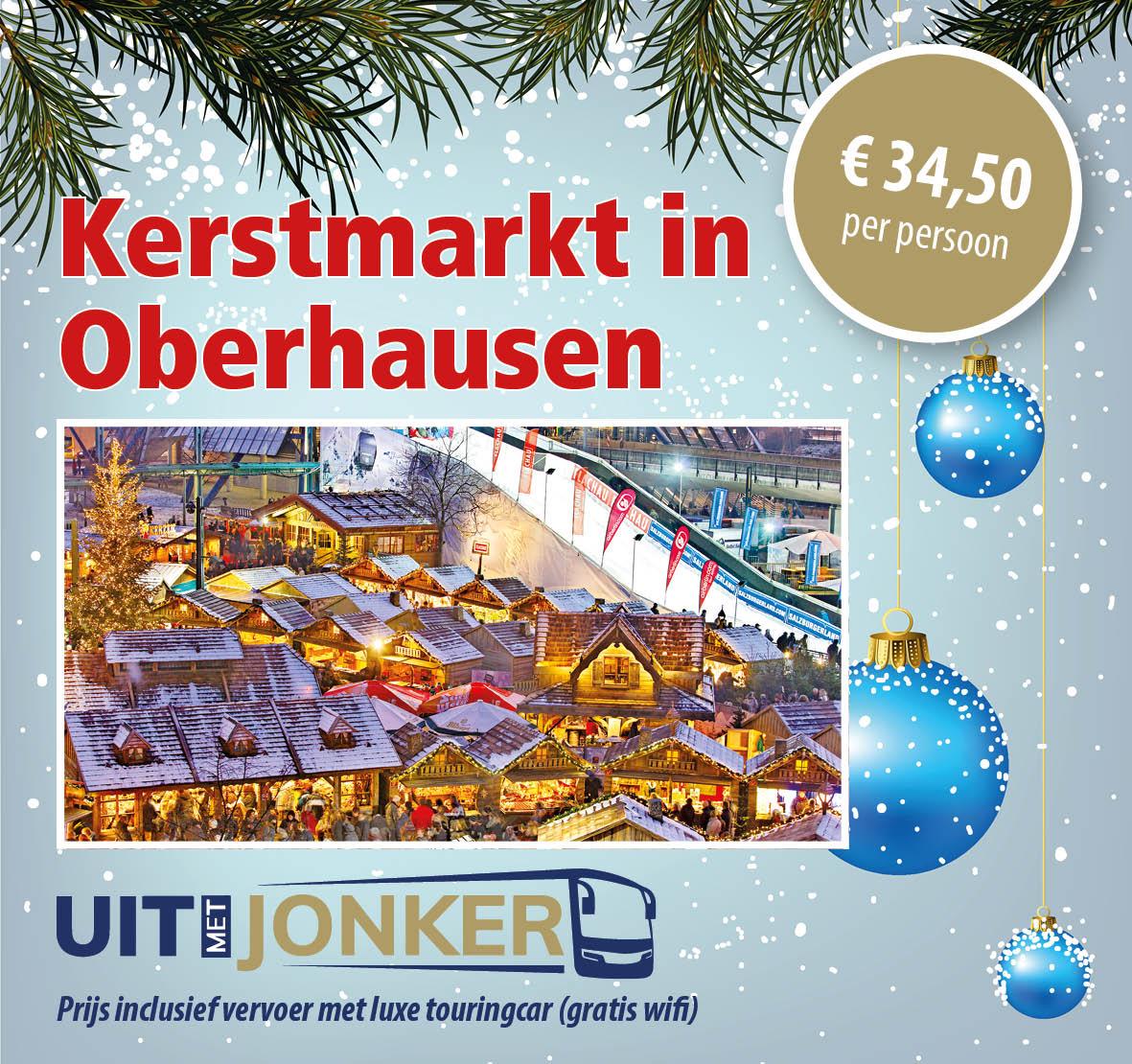 Dagtocht kerstmarkt Oberhausen